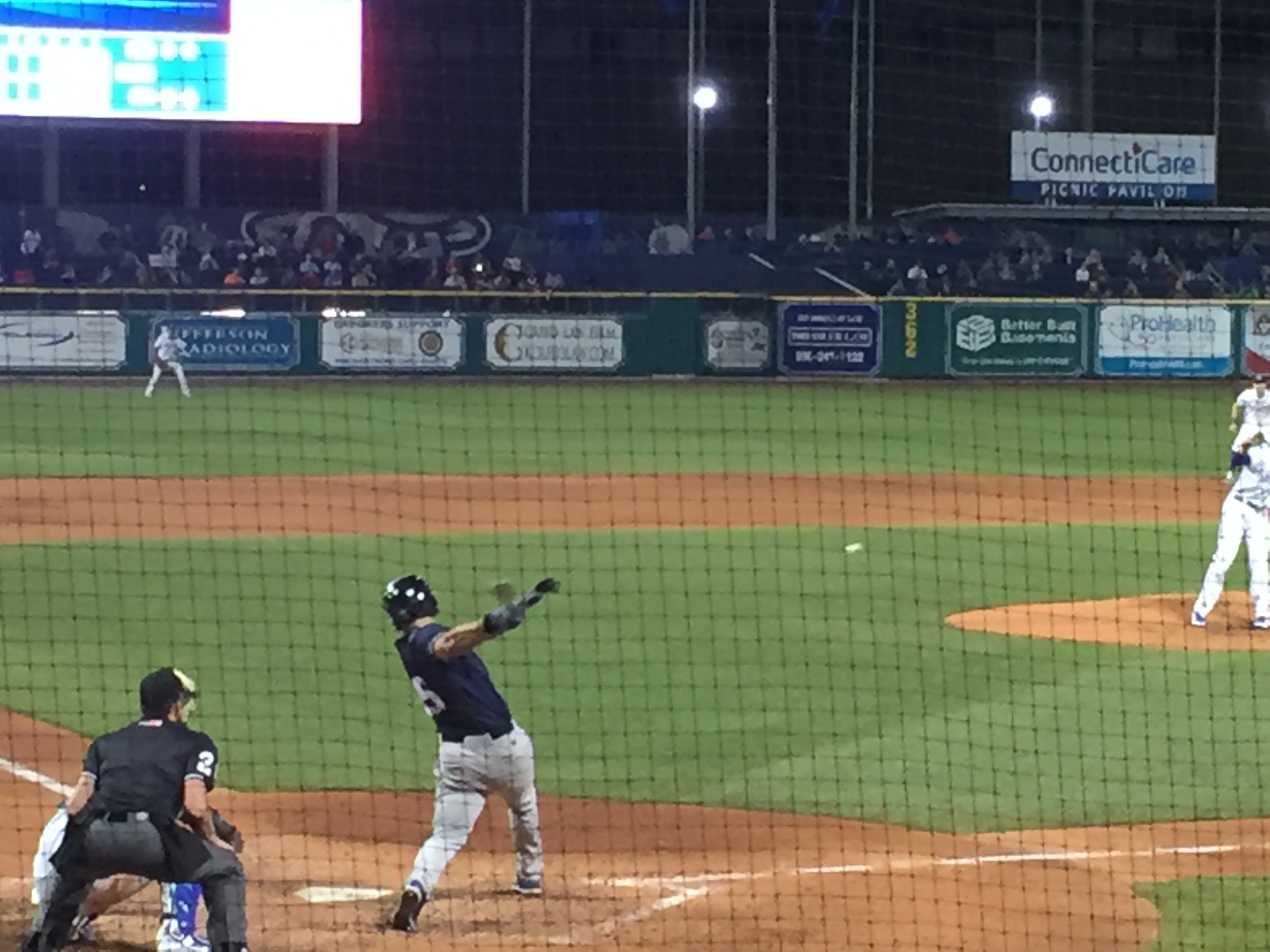 Tim Tebow at Bat